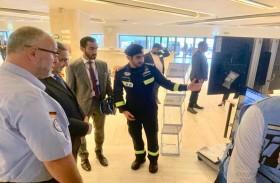 فريق الإمارات للبحث والإنقاذ يشارك في معرض «الدولية الاستشارية»