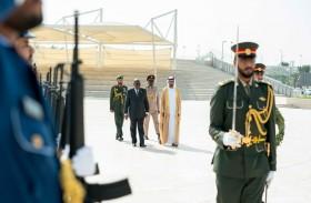 رئيس غانا يزور واحة الكرامة