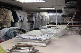 بلدية مدينة أبوظبي تنفذ حملة على محلات غسيل وكي الملابس