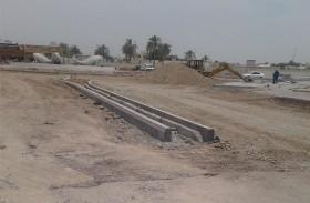 تطوير شارع المطاف برأس الخيمة  قبل نهاية العام الجاري