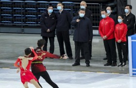 الرئيس الصيني يبحث مع باخ تقدم الاستعدادات  لاستضافة الألعاب الأولمبية الشتوية بكين 2022