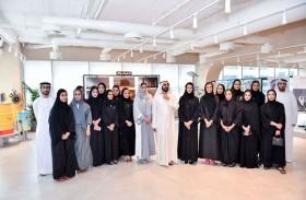 محمد بن راشد يطلع على المشاريع الإبداعية الجديدة لــ «براند دبي»