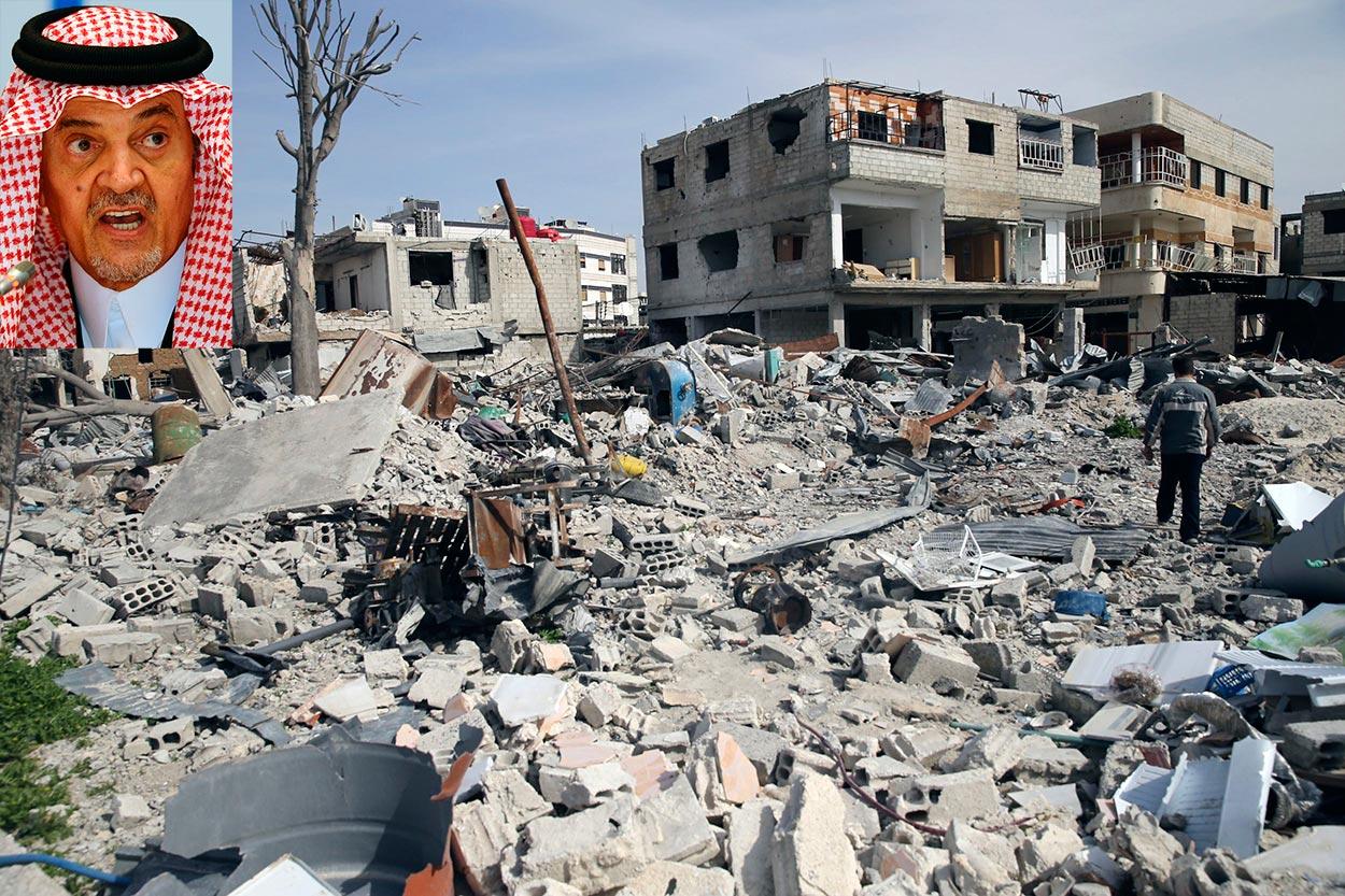 واشنطن ودول أوروبية تدرّب الثوار السوريين .. الفيصل: الحرب في سوريا أصبحت عالمية