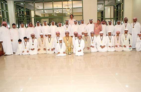 نادي الإمارات يكرم أبطال ناشئي اليد
