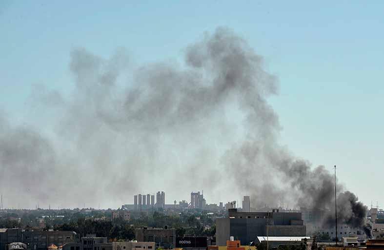 هدوء حذر في بنغازي بعد اشتباكات بالأسلحة الثقيلة