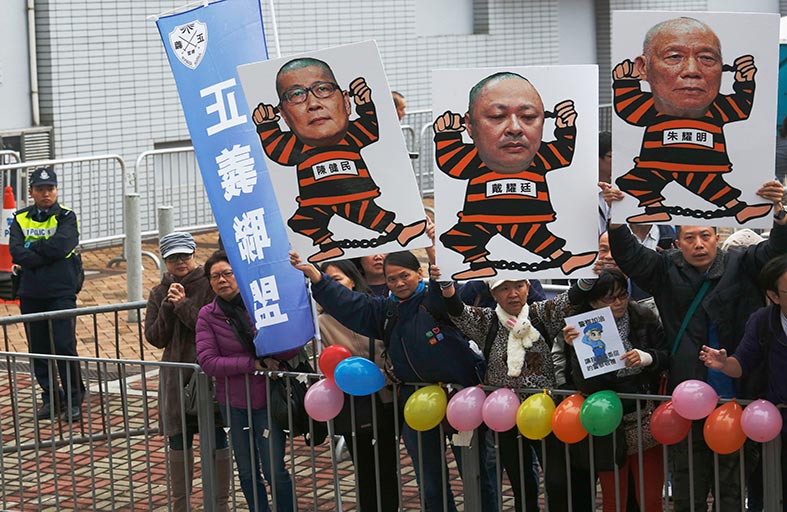 حركة الاحتجاج في هونج كونج ترفض التراجع