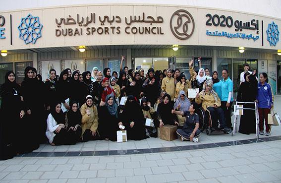مجلس دبي الرياضي ينظم أسبوع التغذية السليمة للاعبات أندية دبي