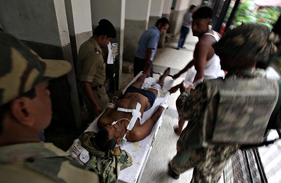 مقتل 5 جنود هنود في هجوم على الحدود