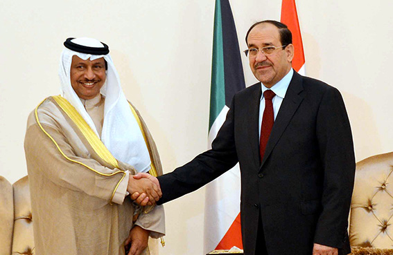 رئيس الوزراء الكويتي يزور بغداد