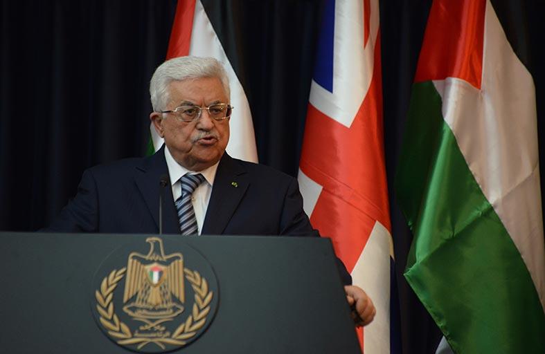 عباس يرفض قانون دولة إسرائيل اليهودية
