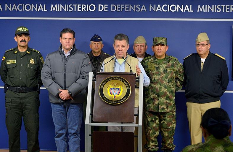 الحكومة الكولومبية والفارك يوقفان المفاوضات