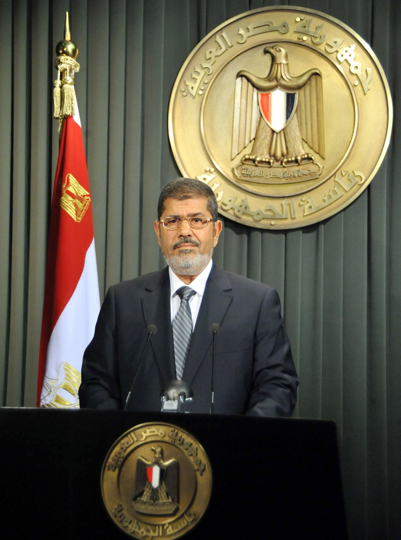 مرسي: نظام الأسد لا مجال له في سوريا