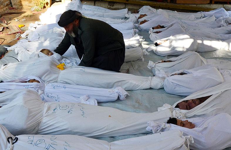 الزعابي يدين استخدام الأسلحة الكيميائية المحرمة دولياً ضد المدنيين في ريف دمشق