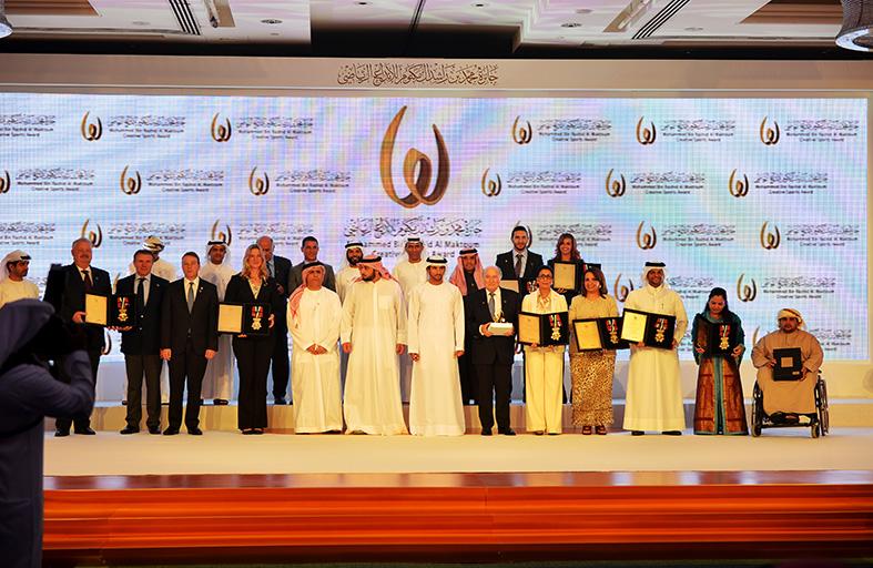 جائزة محمد بن راشد آل مكتوم للإبداع الرياضي تتسلم ملفات الترشح للدورة الخامسة