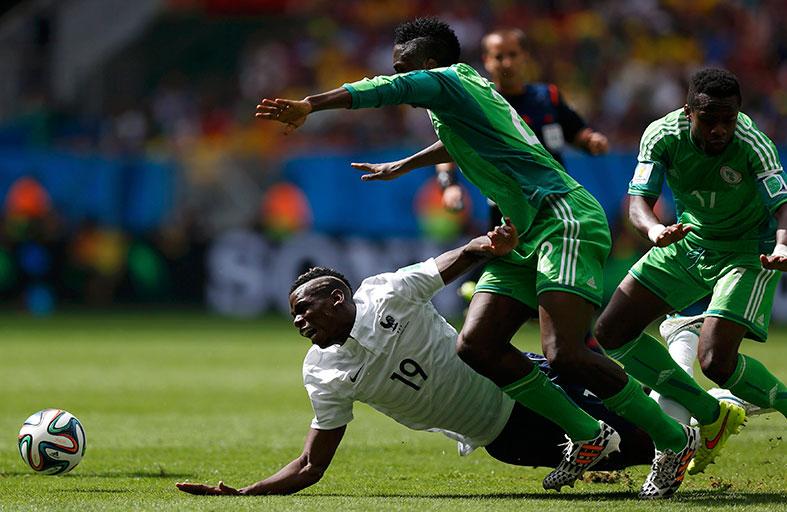 نيجيريا تودع المونديال بهدفين فرنسيين