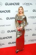 الممثلة لورا وايتمور تحضر حفل توزيع جوائز نساء العام الساحرات 2019 في مانهاتن، نيويورك. رويترز