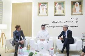 كهرباء ومياه دبي تبحث التعاون مع مجموعة «إنجي» الفرنسية