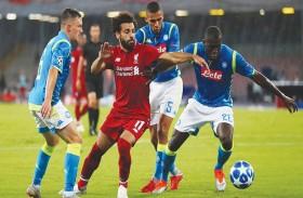 ليفربول مطالب بالفوز على نابولي بدوري الأبطال