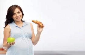 نوعية طعام الحامل تؤثر على بدانة الطفل