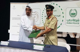 شرطة دبي والمعهد الدولي للتسامح يوقعان مذكرة تفاهم