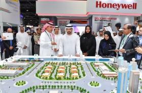 حمدان بن محمد: تواجد آلاف الشركات وأكبر الأسماء العالمية يفتح آفاقا  جديدة للتعاون ويعزز أهدافنا الاستراتيجية نحو ريادة الثورة الصناعية الرابعة
