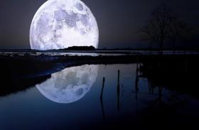 باطن القمر غني بالماء