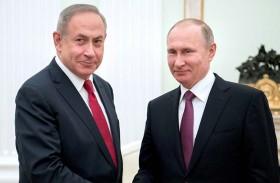 نتانياهو أبلغ بوتين تفاصيل العملية على الحدود اللبنانية