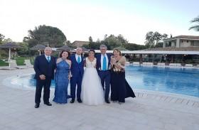 قصة حب ايطالية بدأت في نابولي ونمت في أبوظبي والزفاف في سردينيا