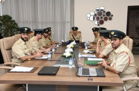 اللواء المري يستعرض استراتيجية المعرفة والابتكار في شرطة دبي