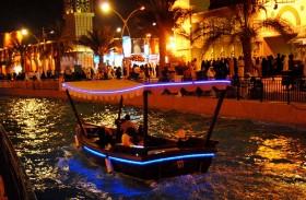 «طرق دبي» تشغل عبرات كهربائية لخدمة ضيوف القرية العالمية