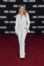بيثاني جوي لينز خلال حضورها العرض الأول لفيلم  «Ford V Ferrari»  في هوليوود، كاليفورنيا.  ا ف ب
