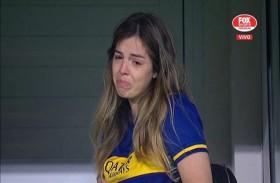 بوكا جونيورز يحيي ذكرى مارادونا  أمام دموع ابنته