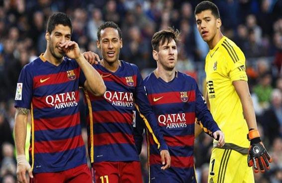 فوز كبير لبرشلونة وآخر هزيل لاتلتيكو مدريد