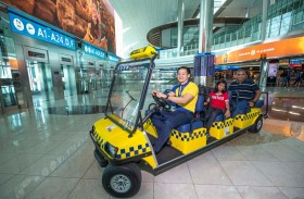 إطلاق خدمة تكسي دي اكس بي المجانية في مبنى 3 بمطار دبي الدولي