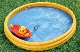 حيلة ذكية لنفخ حوض السباحة
