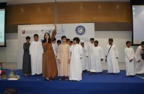طلاب نادي الإمارات العلمي التابع لندوة الثقافة والعلوم يزورون جامعة دبي
