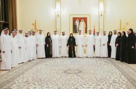 حاكم رأس الخيمة يستقبل رئيسة و أعضاء المجلس الوطني الإتحادي