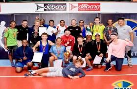 فريق أكاديمية تيتان أبوظبي يتوج بلقب بطولة اليوم الوطني لناشئي المصارعة