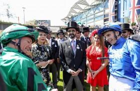 خيول الإمارات تواصل تحقيق إنجازاتها بمنافسات «رويال اسكوت» بإنجلترا