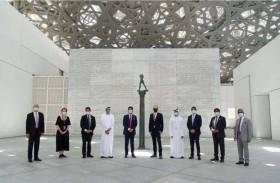 متحف اللوفر - أبوظبي يوفر تجربة آمنة لزواره وموظفيه