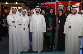 منصور بن محمد يفتتح معرض فيدكس بي