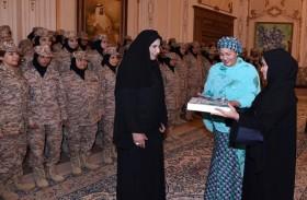 الشيخة فاطمة بنت مبارك: نطمح لصنع واقعاً جديداً ومساحة أرحب للمرأة لتكون رائدة وصانعة قرار في مجال السلام والأمن