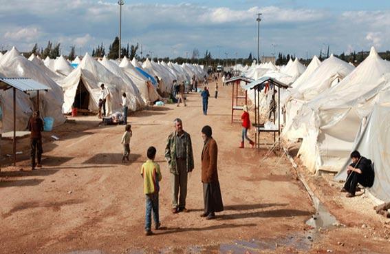 افتتاح أكبر مخيم للاجئين السوريين في تركيا