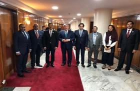 الإمارات والجزائر تبحثان سبل تعزيز العلاقات الثنائية