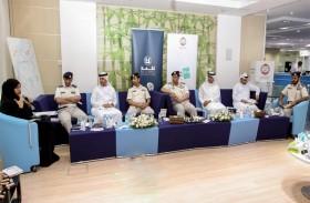 شرطة أبوظبي تناقش كتاب «النزاع الايجابي»بجلسة ثقافية مع نادي كلمة للقراءة