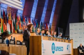 نورة الكعبي تؤكد أهمية التعاون بين الدول الأعضاء لتلبية احتياجات المجتمعات في مجالات التعليم والثقافة والعلوم