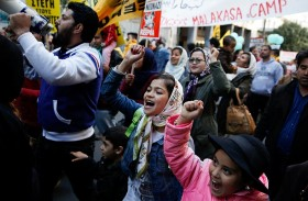 مظاهرات في أثينا ضد المشاعر المعادية للمسلمين