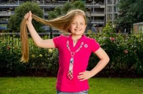 صاحبة أطول شعر في بريطانيا