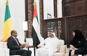 محمد بن زايد يؤكد حرص الإمارات على دعم جهود التنمية في الدول الشقيقة والصديقة