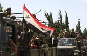 قوات النظام تستعيد طريق يربط دمشق بتدمر